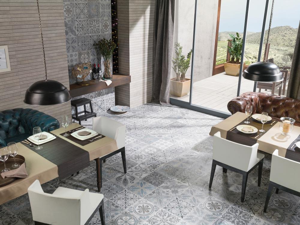 Porcelanosa Antique dekoor keraamiline põrandaplaat