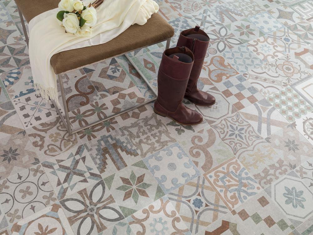 Porcelanosa Barcelona dekoor keraamiline põrandaplaat