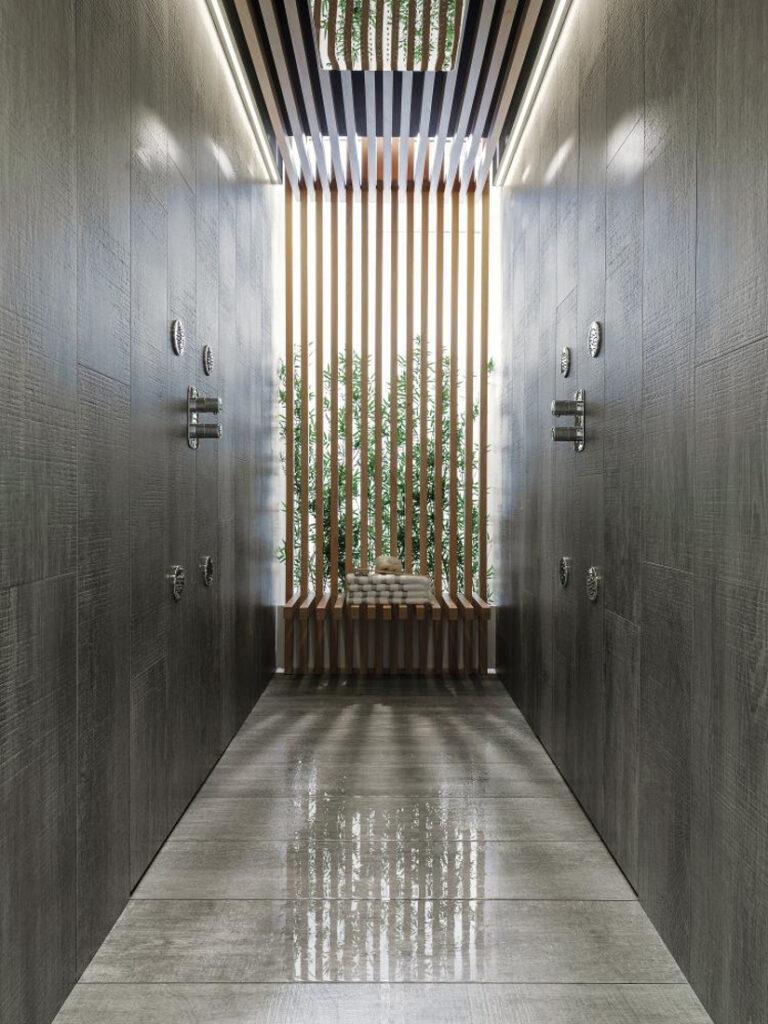 Porcelanosa parker shower tray